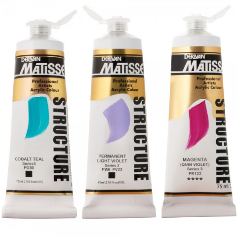 Matisse Structure Acrylic Colours 75ml