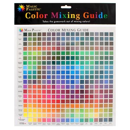 Magic Palette Colour Mixing Guide no5324