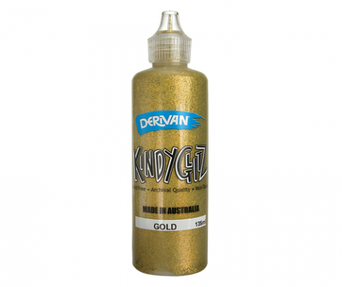 Kindy Glitz 135ml Gold