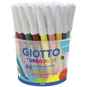 Giotto Turbo Maxi Markers 48's