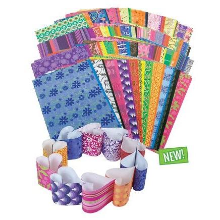 Patterned Craft Paper 192pcs