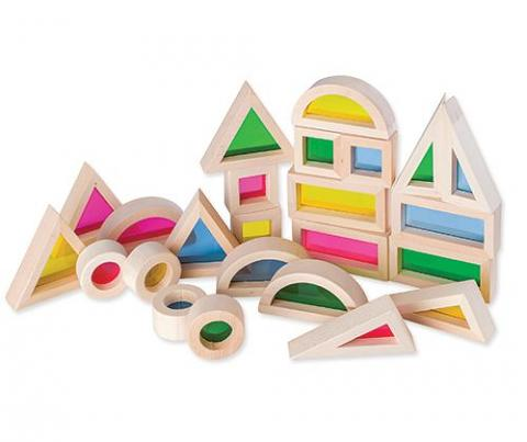 Discovery Light & Colour Blocks 24 Pack