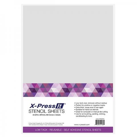 Stencil Sheet A3 2pack
