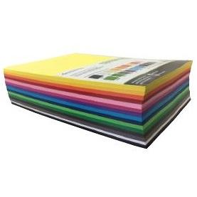 Cover Paper A4 500pack Assorted Cols