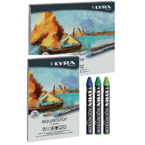 Lyra Aquacolour Crayons