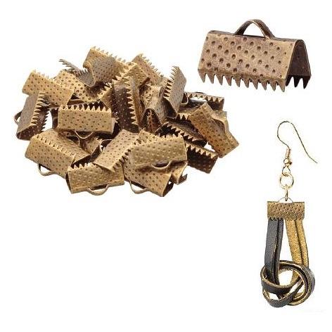 Jewellery Pinch Clasp 13mm Bronze (30pack)