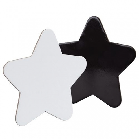 Canvas Board Magnetic 15cm 4pack (Star)