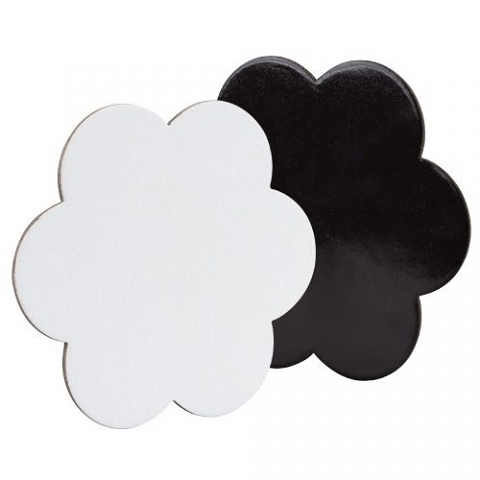 Canvas Board Magnetic 15cm 4pack (Flower)