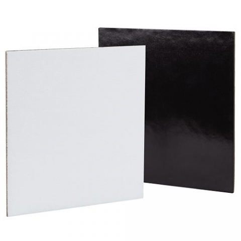 Canvas Board Magnetic 15 x 15cm 4pack (Square)