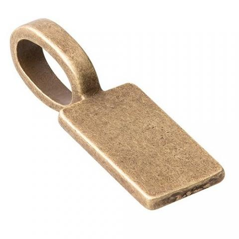 Jewellery Bails Bronze 30pack