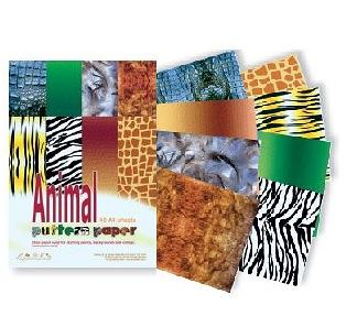 Animal Pattern Paper Pack