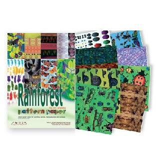 Rainforest Pattern Paper Pack