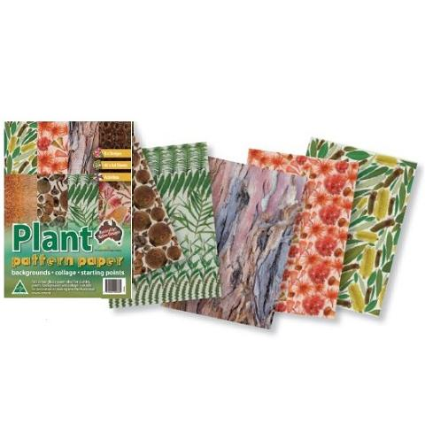 Plant Patterned Paper Pack