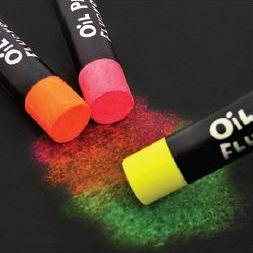 Oil Pastels Fluoro 12pack