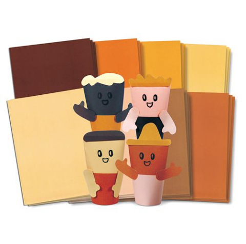Multicultural Construction Paper