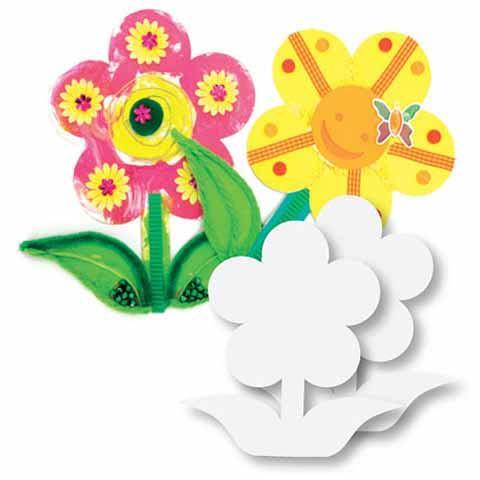 Cardboard Flowers