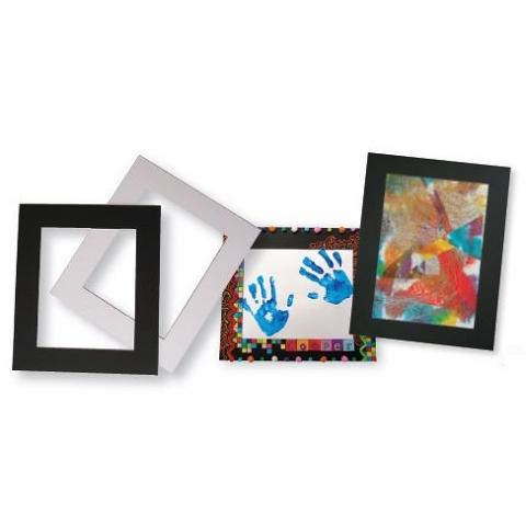 Cardboard Pre-cut Frames A4 10pack