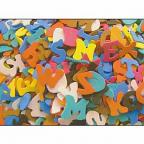 Foam Shapes Alphabet