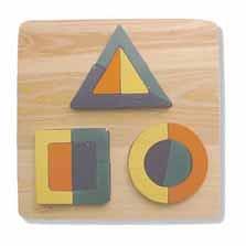 Square Shapes Puzzle