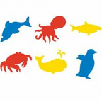 Stencils Sealife