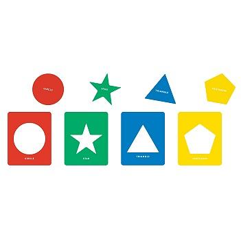 Stencils Geometric