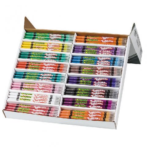 Crayola Twistable Crayons 240 Classpack