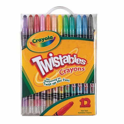 Crayola Twistable Crayon 12pack