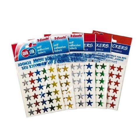 Quikstick Star stickers