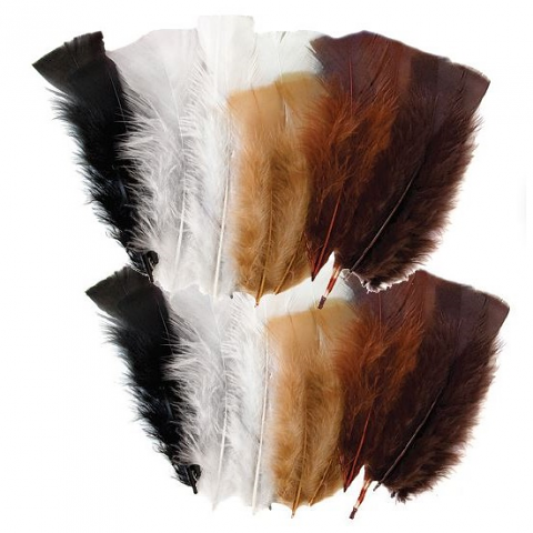 Feathers 60g Animal Colours