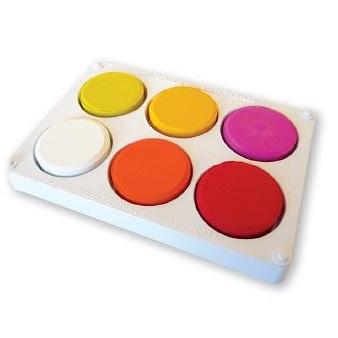 Paint Block Set Warm Colours with Palette