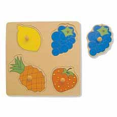 Fruit Large Knob Puzzle