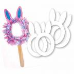 Cardboard Bunny Masks 10pack