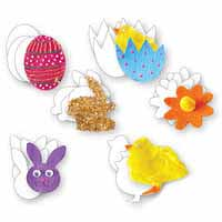 Easter Cardboard Cutouts 48pack