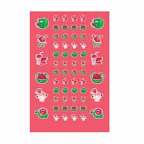 Scratch n' Sniff  Stickers Watermelon