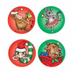 Aussie Christmas Stickers 84 pack