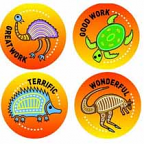 Aboriginal Stickers 96 pack (New Design)