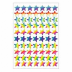 Laser Stars Dynamic Glitz Stickers 700 pack (DG598)