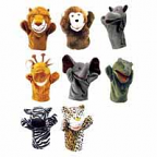 Safari Puppets set of 8