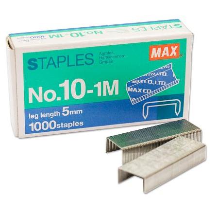 Staples NO 10 (Box of 10 000)