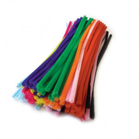 Pipecleaners Chenille Assorted 100pack