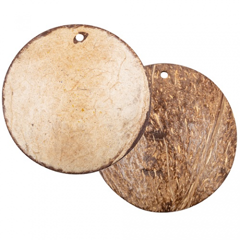 Coconut Shell Disk 60mm 10pack