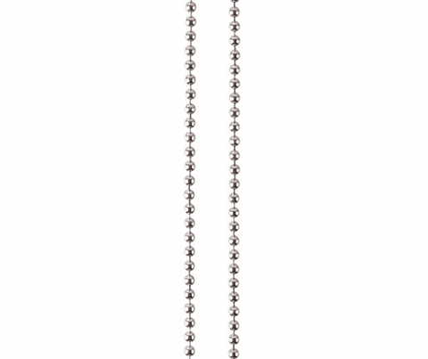 Ball Chain with Clasp 2mm x 67cm 10's Silver