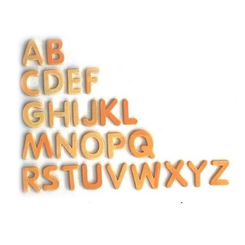 Wooden Alphabet 155 pack