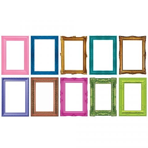 Picture Frame Blanks A3 10pack - Coloured