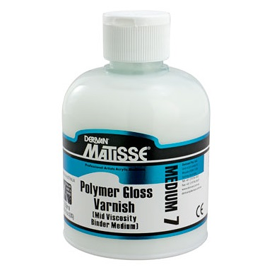Polymer Gloss Varnish 250ml MM7