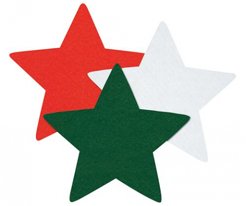 Felt Star Decorations
