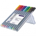 Triplus Fineliner 10 packAssorted Colours