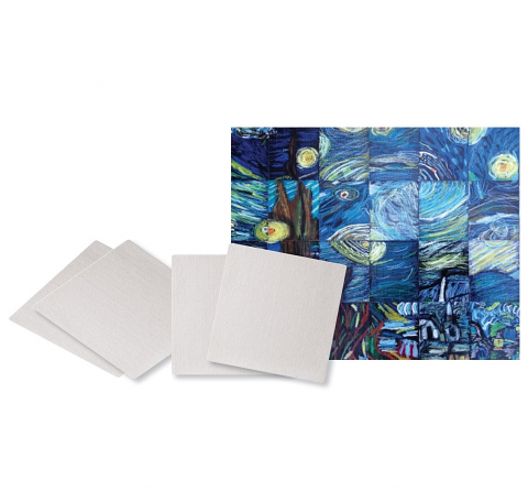 Canvas Board Mosaics 10 Pack
