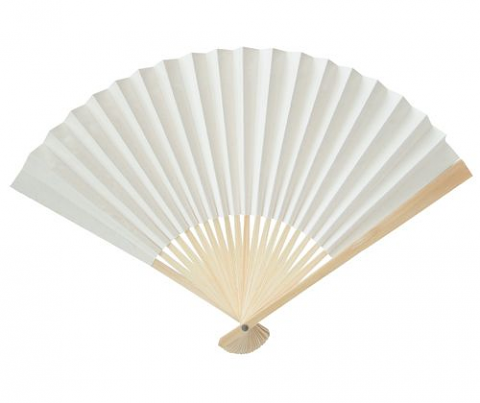 Paper Fans (blank 10pack)