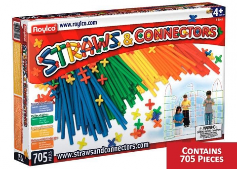 Straws and Connectors Set 705pcs